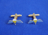 PARA'S WINGS ( PARACHUTE WINGS )  CUFF LINKS